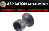 ASPレバレージキャップ Textured Black