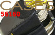 ASPダブル手錠ケースブラック