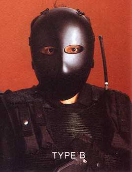 防弾フェイスマスク クラス�UA