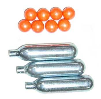 防犯用ペイントボール発射装置 チェイサーCR-I 型用 オプション スペアキット