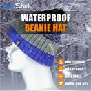 防水通気ビーニー帽 DH332N-PP
