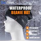 防水通気ビーニー帽 DH372-BK