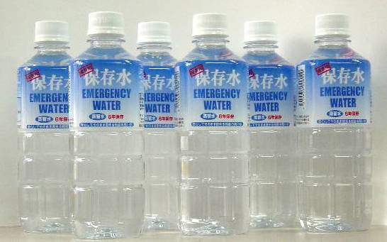 6年保存水 500ml 24本セット