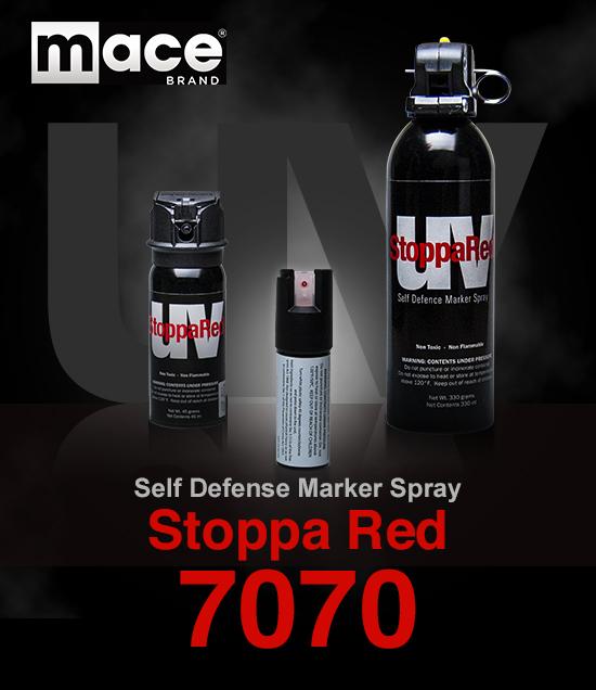 防犯スプレーmace(メース)ストッパレッド 7070
